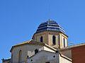 Absis i cúpula de l'església de sant Pere Apòstol de Beniarrés.JPG
