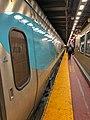 Acela Express in New York Penn Station Platform.jpg