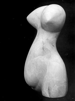 Français : Achiam : Danse du ventre (Albâtre)