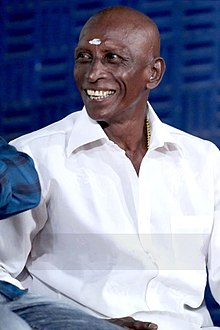 Actor Motta Rajendran at the Vilaasam Press Meet.jpg