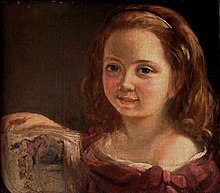 Ada Byron, portrait at age 7