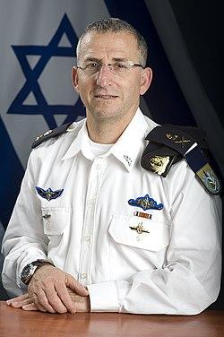 אלוף רם רוטברג מפקד זרוע הים, 2012.