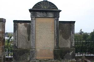 David Milne (Royal Navy officer) - Admiral Milne's family grave, Inveresk