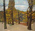 Adolf Hölzel Herbstliche Parklandschaft (Untere Anlagen) c1906.jpg