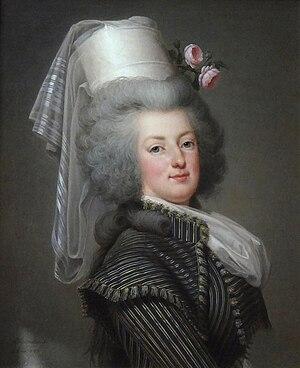 Adolf Ulrik Wertmüller - Image: Adolf Ulrik Wertmüller, Marie Antoinette d'Autriche, reine de France (1788) 002