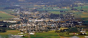 Aerial View of Tillamook, Oregon.JPG