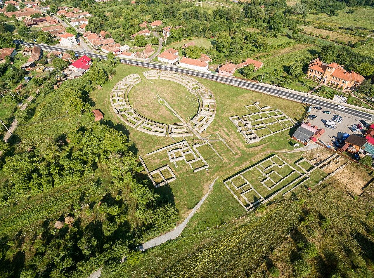 Aerial photographs of Ulpia Traiana Sarmizegetusa-0219.jpg