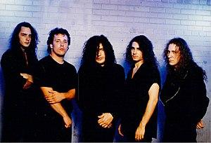 Aftermath (American band) - L-R Chris Waldron, Ray Schmidt, Kyriakos (Charlie) Tsiolis, Steve Sacco, John Lovette