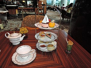 Tea (meal) Term for different mealtimes