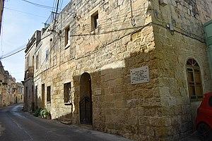 Agatha Barbara - Birthplace of Agatha Barbara in Żabbar