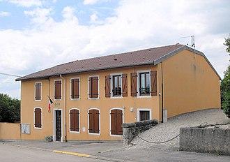 Ahéville - Image: Ahéville, Mairie