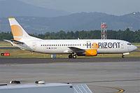 Air Horizont, 9H-ZAZ, Boeing 737-436 (19616831455).jpg