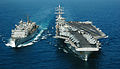 Aircraft carrier at underway replenishment.jpg