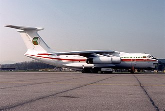 Airstan incident - The Airstan Il-76TD used in the escape.