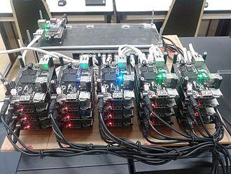 Aiyara cluster - A0, the first Aiyara cluster built at Suranaree University of Technology