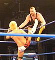 Akira Tozawa bicycle kicks Eddie Kingston.jpg