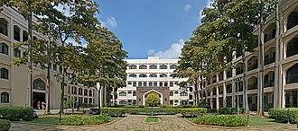 Al-Ameen College of Pharmacy - Image: Al Ameen College of Pharmacy Block