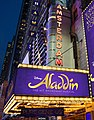 Aladdin at New Amsterdam Theatre in Broadway.jpg