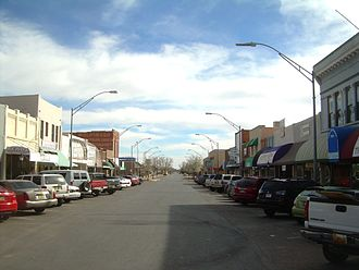 Alamogordo, New Mexico - Retail shops on New York Avenue