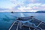 Alaska Air National Guard HH-60 Pave Hawk landing on the USS Anchorage.jpg