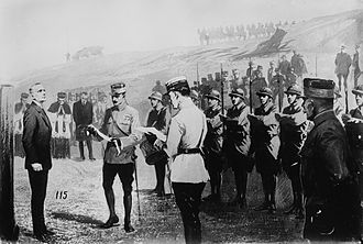 Albert Leo Schlageter - Schlageter facing the firing squad