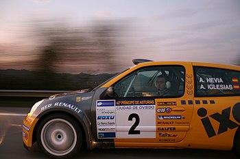 Alberto Hevia Rallye Principe de Asturias