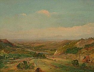 South Auckland landscape