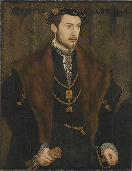 Albrecht V., Bayern, Herzog