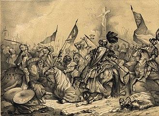 Battle of Toro - Image: Album Rejio, Francisco de Paula van Halen, batalla de Toro (cropped)