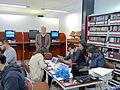Alejandro Pelayo, director de la Cineteca Nacional, durante el Editatón 'Wikipedia ama el cine' 10.JPG