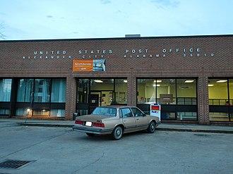 Alexander City, Alabama - Image: Alexander City Post Office 35010