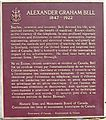 Alexander Graham Bell Museum Plaque, Baddeck, Nova Scotia bellmus2806.jpg