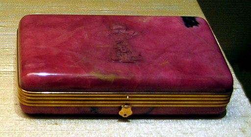 Alexander III of Russia cigarette case (cropped)