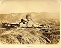 Alexei Ivanitsky. Svetitskhoveli Cathedral and its surroundings. 1858.jpg