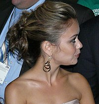 Alexis Dziena leaves the tiff '08 screening of Nick and Norahs Infinite Playlist-2.jpg