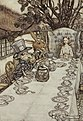 Alice in Wonderland by Arthur Rackham - 08 - A Mad Tea-Party.jpg