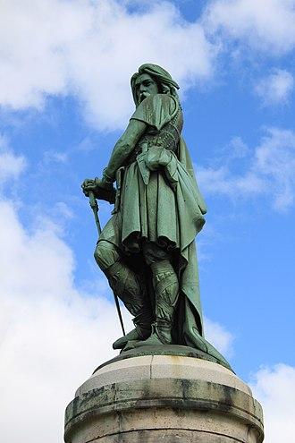 Alise-Sainte-Reine - Image: Alise Sainte Reine Statue Vercingetorix 32