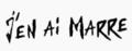 Alizée J'en ai marre ! Logo.png