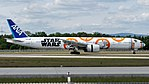 All Nippon Airways (Star Wars - BB-8 livery) Boeing 777-300ER (JA789A) at Frankfurt Airport (13).jpg
