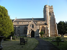 All Saints Church, Emberton, Bucks in the evening sunshine - geograph.org.uk - 1322225.jpg