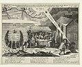 Allegorie op de ondergang van de Spaanse Armada en de ontdekking van het buskruitverraad, 1588-1605 1588. Deo trin-uni Britanniae bis ultori To God, In memorye of his double deliveraunce from ye invincible Navie and ye , RP-P-OB-80.075.jpg