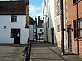 Alley in Sturminster Newton - geograph.org.uk - 336287.jpg