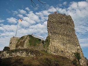 Allinges - Ruins of the old castle at Allinges