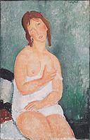 Amedeo Modigliani - Junge Frau im Hemd.jpg