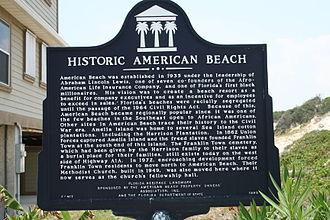 American Beach, Florida - American Beach