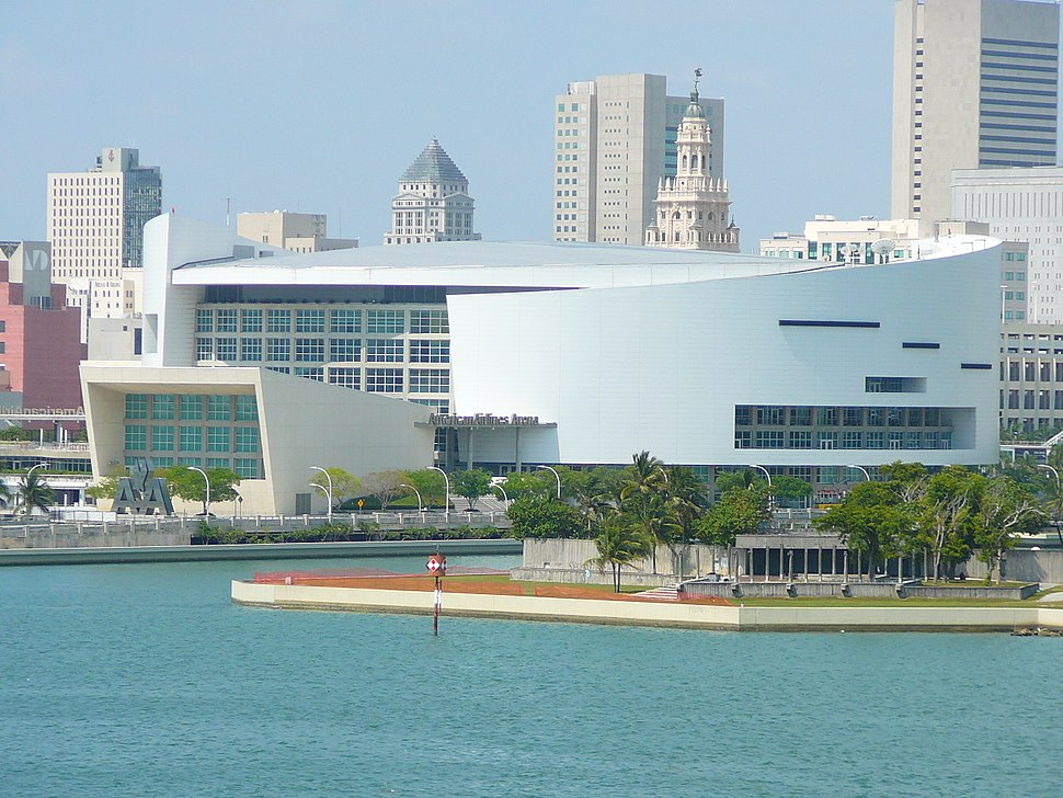 American Airlines Arena backside