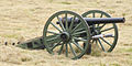 American Civil War era 10 lb parrott rifle used in the battle of Corydon reenactment.jpg