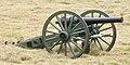 American Civil War era 10 lb parrott rifle used in the battle of Corydon reenactment.jpg