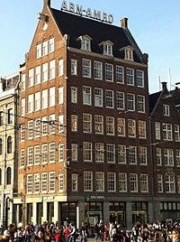 Amsterdam - corner Dam-Damrak architect Jan Gratama.jpg