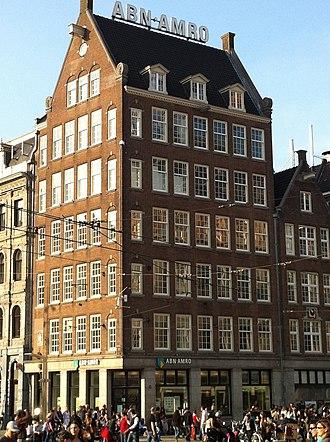 Jan Gratama - Image: Amsterdam corner Dam Damrak architect Jan Gratama